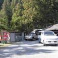 2.「上山霊水」の駐車場
