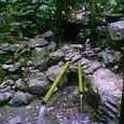 2.恵利原の水穴(天の岩戸)