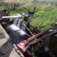 3.二子水神湧水 取水用の樋