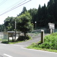 02.「解雷ヶ清水」の入口